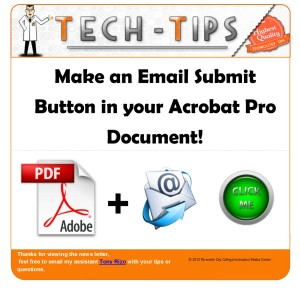 Make an Email Submit  Button in your Acrobat Pro Document!